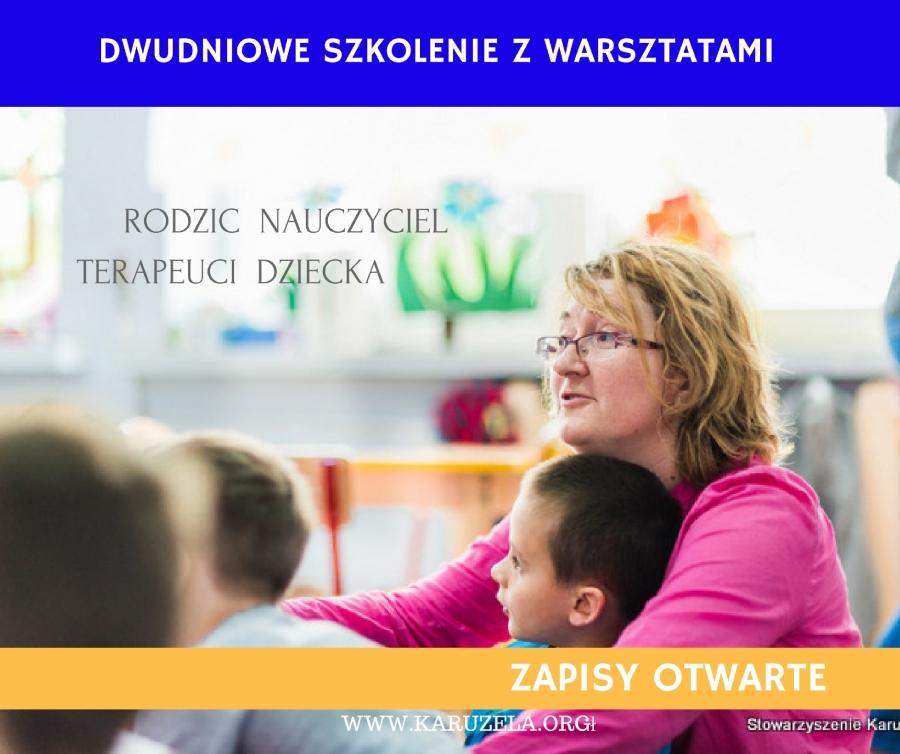 Event Szkoleniowy 2016 - Rodzic Nauczyciel Terapeuci Dziecka