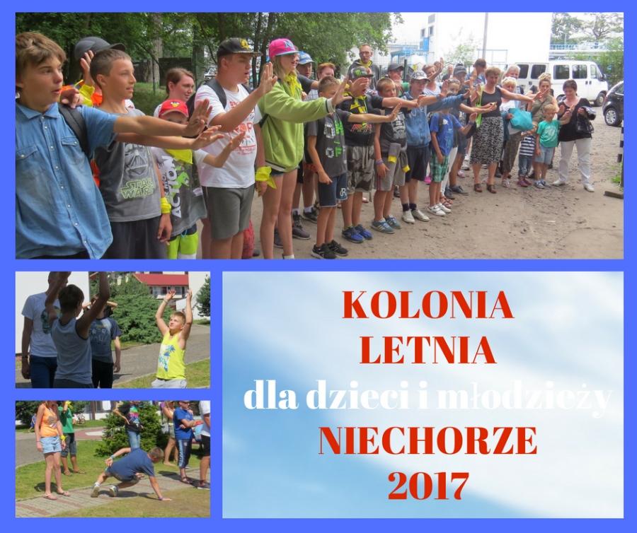 Kolonia Letnia 2017 w Niechorzu